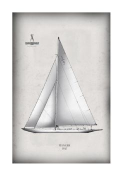America's Cup Yacht 1937 Ranger